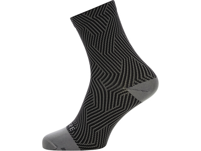 GORE WEAR C3 Optiline Middelhoge Sokken, grijs/zwart
